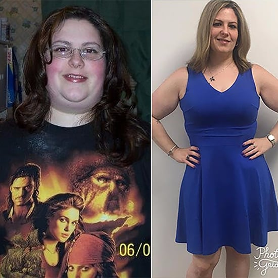 90-Pound Weight-Loss Transformation