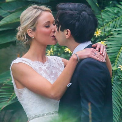 Katrina Bowden Wedding Pictures