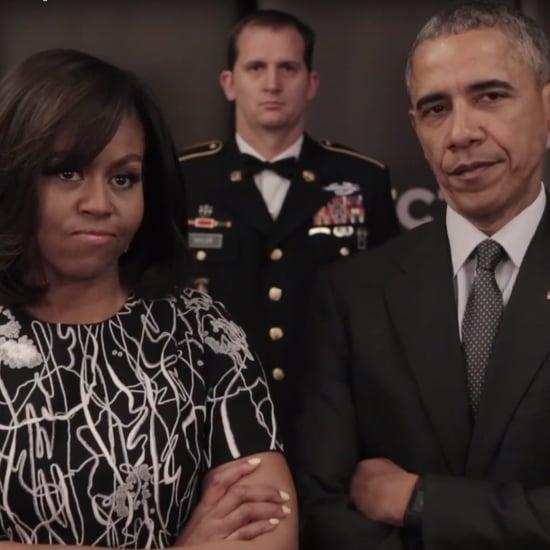 Barack and Michelle Obama Invictus Games Video April 2016