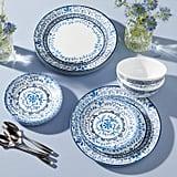 Corelle Portofino 18-Piece Dinnerware Set
