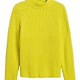 Chunky High Crew-Neck Sweater