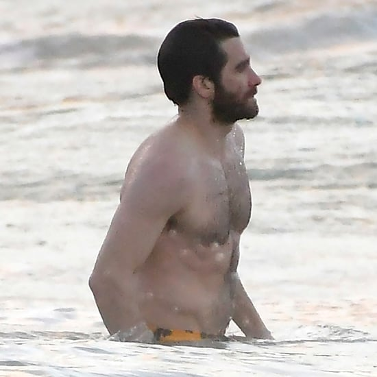 Jake Gyllenhaal Shirtless in St. Barts Pictures Dec. 2016