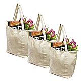 Earthwise 100% Cotton Reusable Grocery Bags