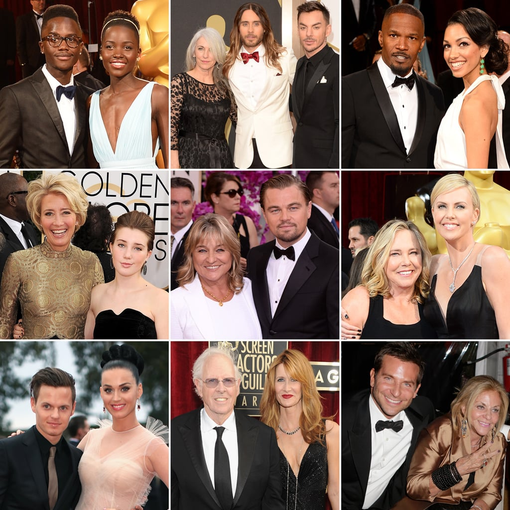 Celebrities With Their Parents on the Red Carpet 2014