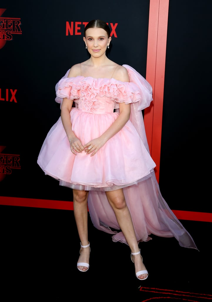 """Millie Bobby Brown's Hairstyle at the """"Stranger Things"""" Season 3 Premier"""