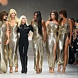 Donatella Versace brought back the iconic supermodels who walked the Versace runway in the '90s with her Spring 2018 collection. Cindy Crawford, Naomi Campbell, Claudia Schiffer, Helena Christensen, and Carla Bruni were all in attendance for the major moment.