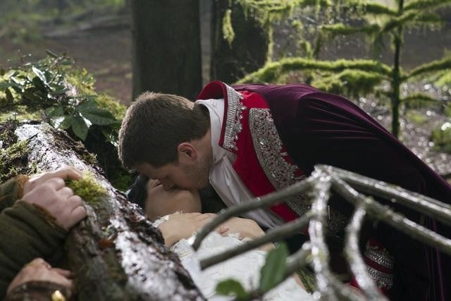 Ginnifer Goodwin and Josh Dallas on ABC's Once Upon a Time.