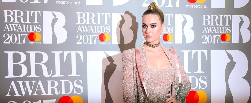 That's Not Just a Topknot in Katy Perry's Hair at the Brit Awards