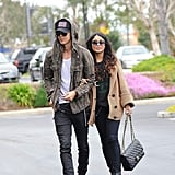 September 2011: Vanessa and Austin Are Spotted in Public Together