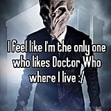 "<a href=""http:/... Lonely Doctor Who Fan</a>"