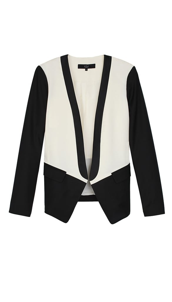 Instead of the usual black blazer, try out this Tibi tuxedo jacket ($291, originally $485) for a new take on classics.