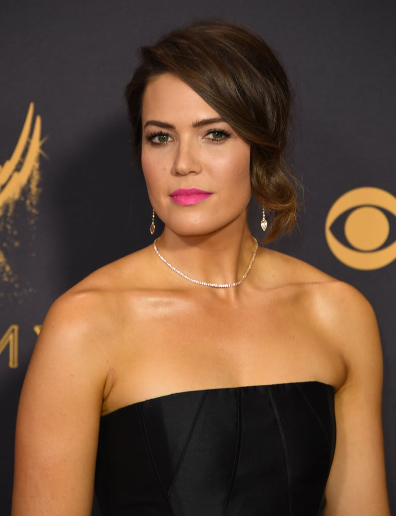 Mandy moores beauty look at the 2017 emmys mandy moores hair mandy moores beauty look at the 2017 emmys urmus Choice Image