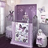 Lambs & Ivy Butterfly Lane Crib Bedding Set