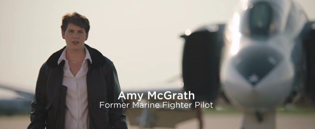 The First Female Marine to Fly An F-18 in Combat Is Running For Congress in Kentucky