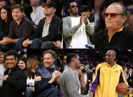 Photos of Tobey Maguire, Leonardo DiCaprio, Diddy, Will Ferrell, Kobe Bryant