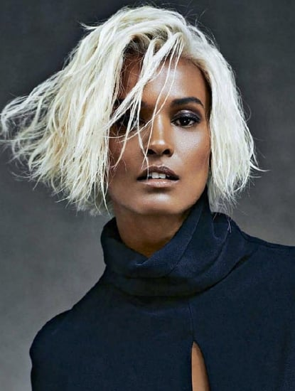 Liya Kebede Goes Bleach Blonde For Marie Claire France