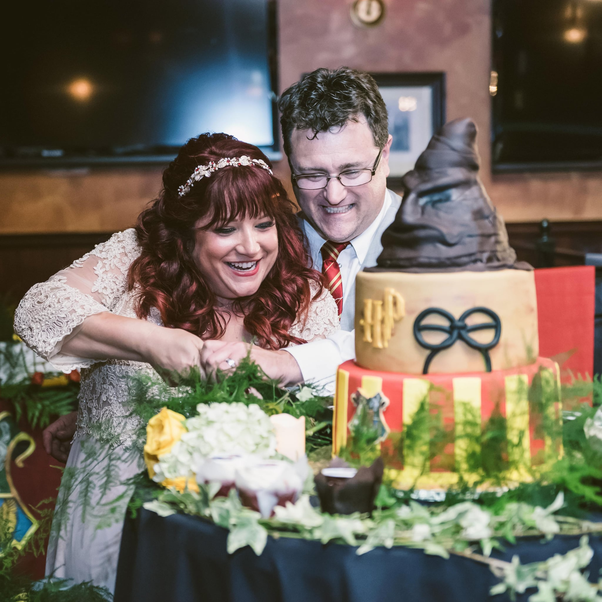 Harry Potter Themed Wedding Popsugar Love Sex Photo 41