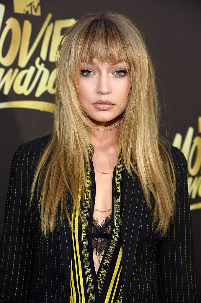 Gigi Hadid Bangs MTV Movie Awards
