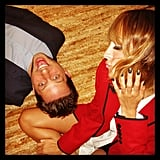 Nicole Richie and Derek Blasberg had some fun together on the floor. Source: Instagram user nicolerichie