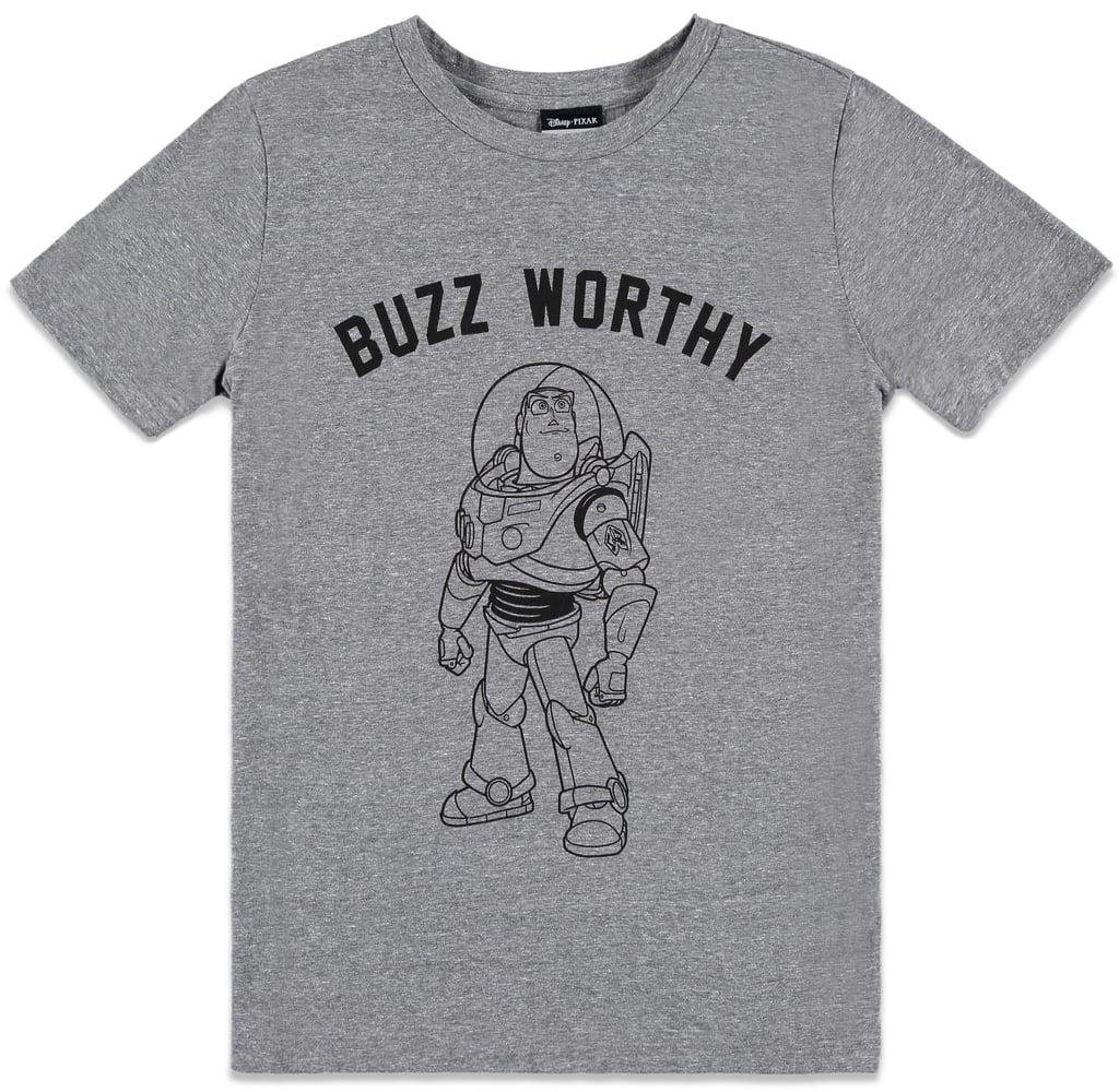 Pixar Buzz Worthy Graphic Tee ($16)