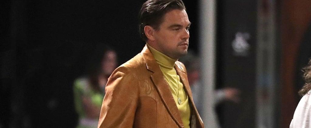 Leonardo DiCaprio and Brad Pitt Filming in LA July 2018