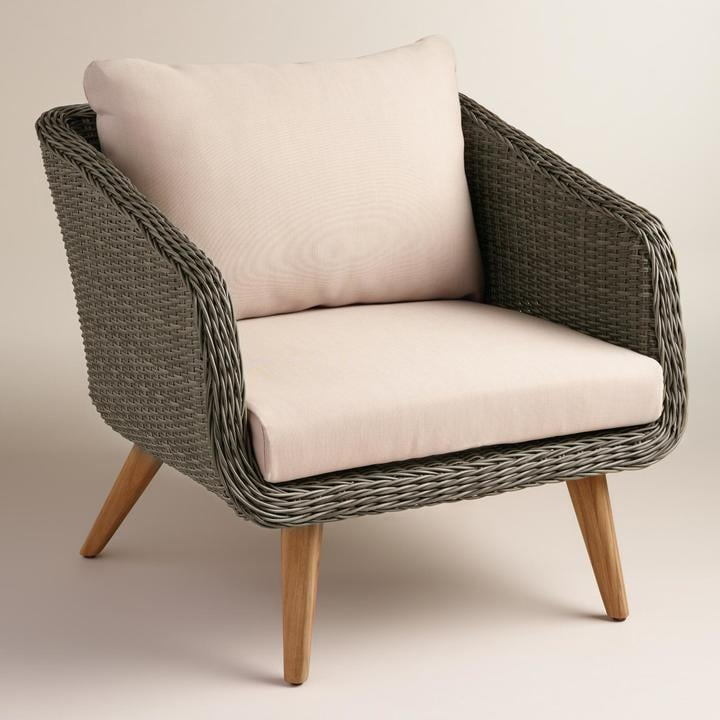 All Weather Wicker Minorca Chair ($400)