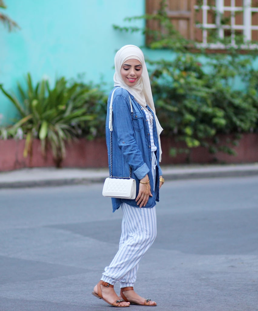 Hijab Fashion Bloggers Popsugar Fashion