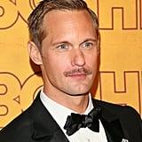 Alexander Skarsgard's Mustache at the 2017 Emmy Awards