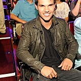 Taylor Lautner at the Teen Choice Awards.