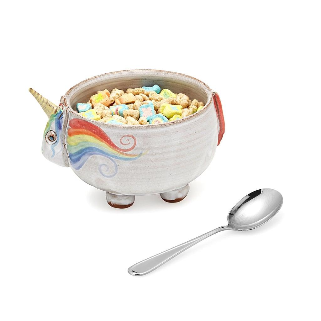 Elwood the Unicorn Cereal Bowl