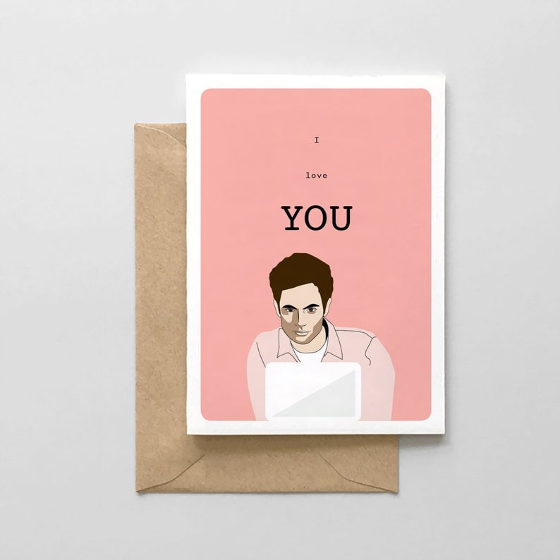 I Love YOU! Valentine's Day Card