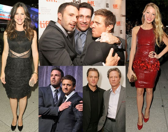 Celebrities at the Opening Weekend of the 2010 Toronto Film Festival