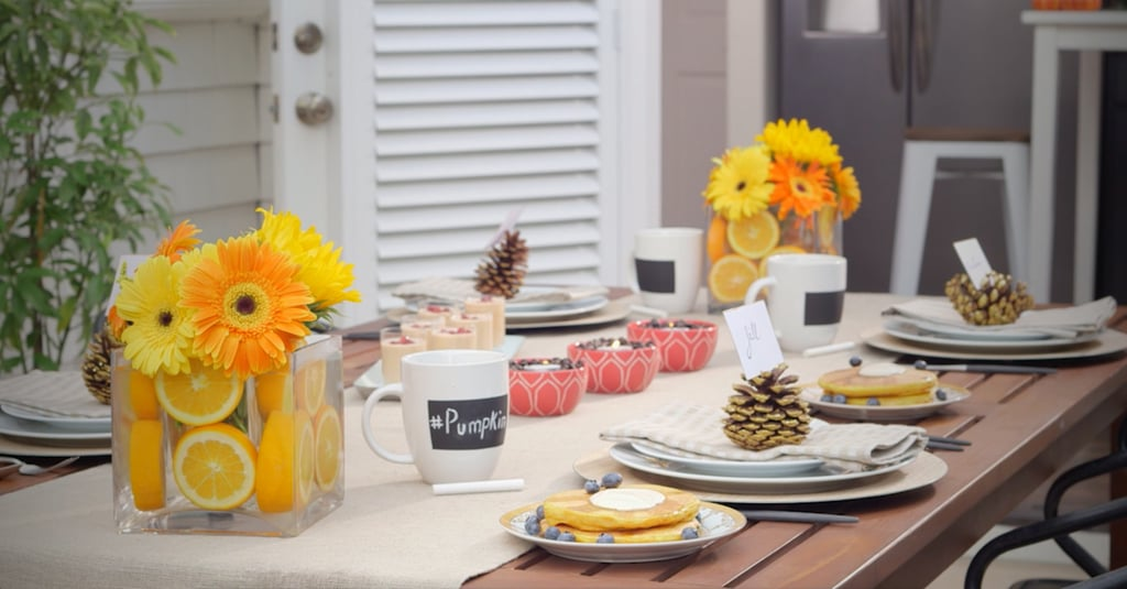 DIY Essentials For Hosting the Perfect Fall Brunch