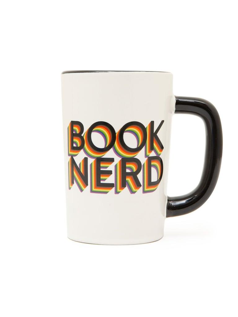 Out of Print Book Nerd Pride Mug