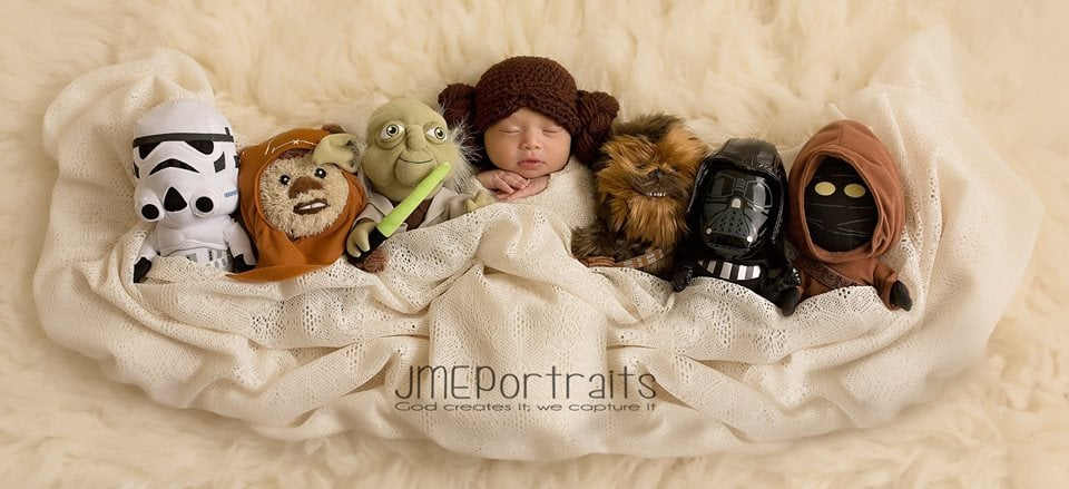 Nothing but good feelings on how this little Jedi will turn out