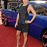 Actress Elsa Pataky premiered her latest film, Fast & Furious 6 at Universal City in California on May 21. Hubby Chris Hemsworth was on dad duty with their daughter, India.