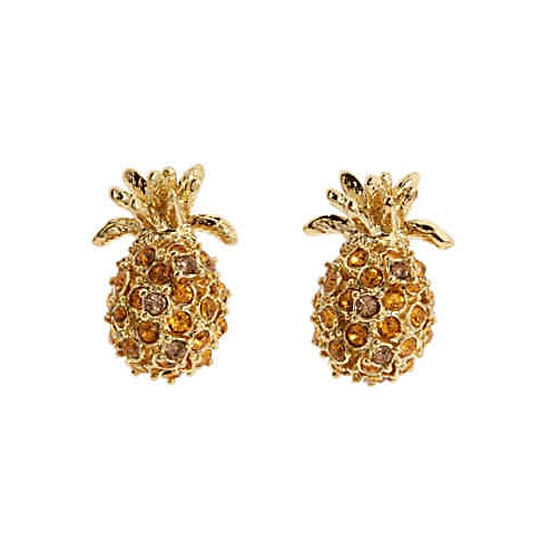 Kate Spade Pineapple Grove Earrings, $75