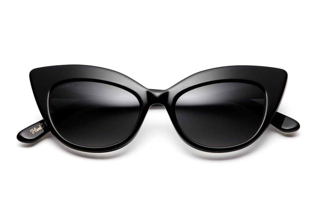 Feroce Eyewear Emerald Blackout Sunglasses