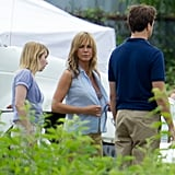 Jennifer Aniston in Nude Bra Pictures on We're the Millers Set