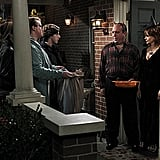 Swoosie Kurtz as Joyce and Louis Mustillo as Vince on Mike & Molly.  Photo courtesy of CBS