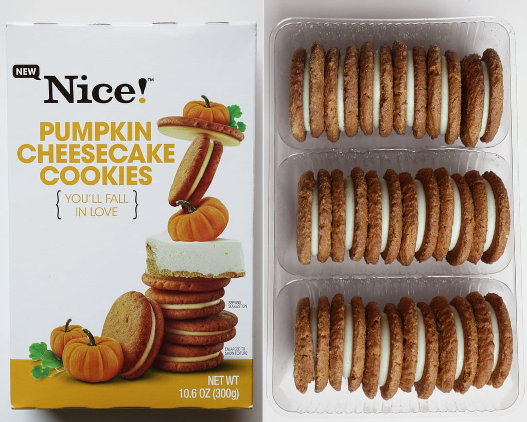 Nice! Pumpkin Cheesecake Cookies