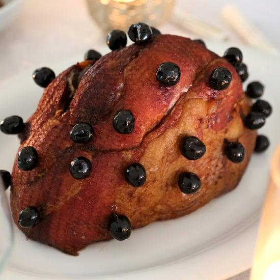 Cherry-Studded Ham