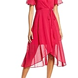 Vince Camuto Clip Dot Wrap Dress