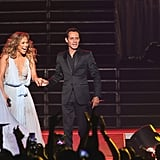 Jennifer Lopez Marc Anthony Duet and Casper Smart Pictures