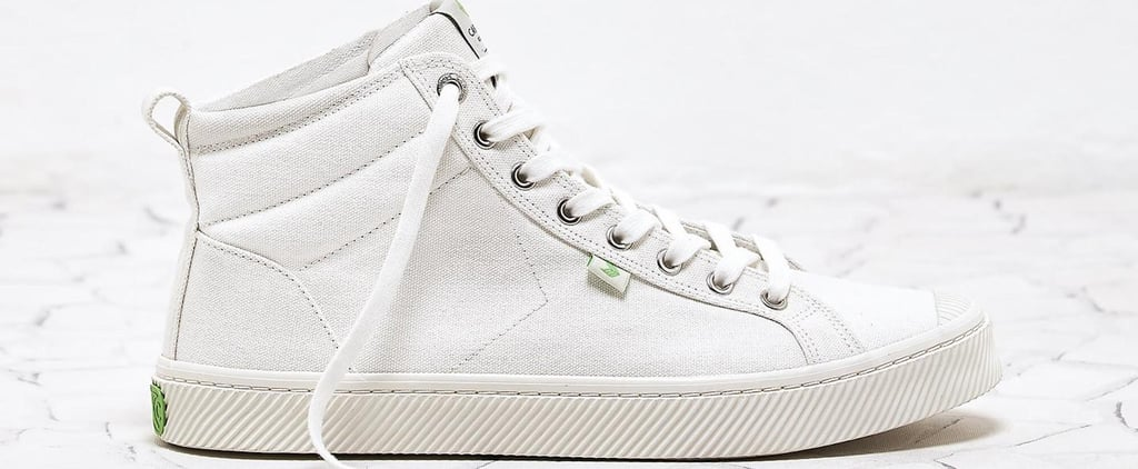 Cariuma White Canvas High-Top Sneakers Are 100% Vegan