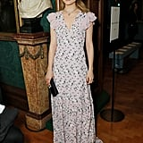Dianna Agron at the Erdem Show