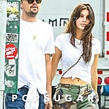 Leonardo DiCaprio and Camila Morrone Walking in NYC May 2018
