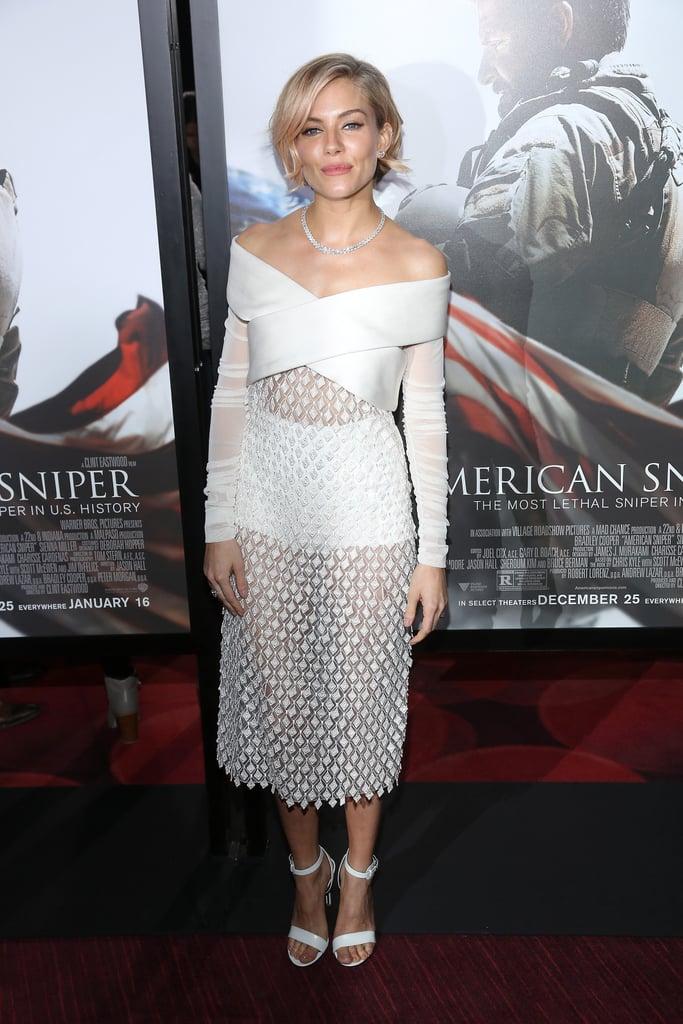 Sienna Miller's Sheer Style