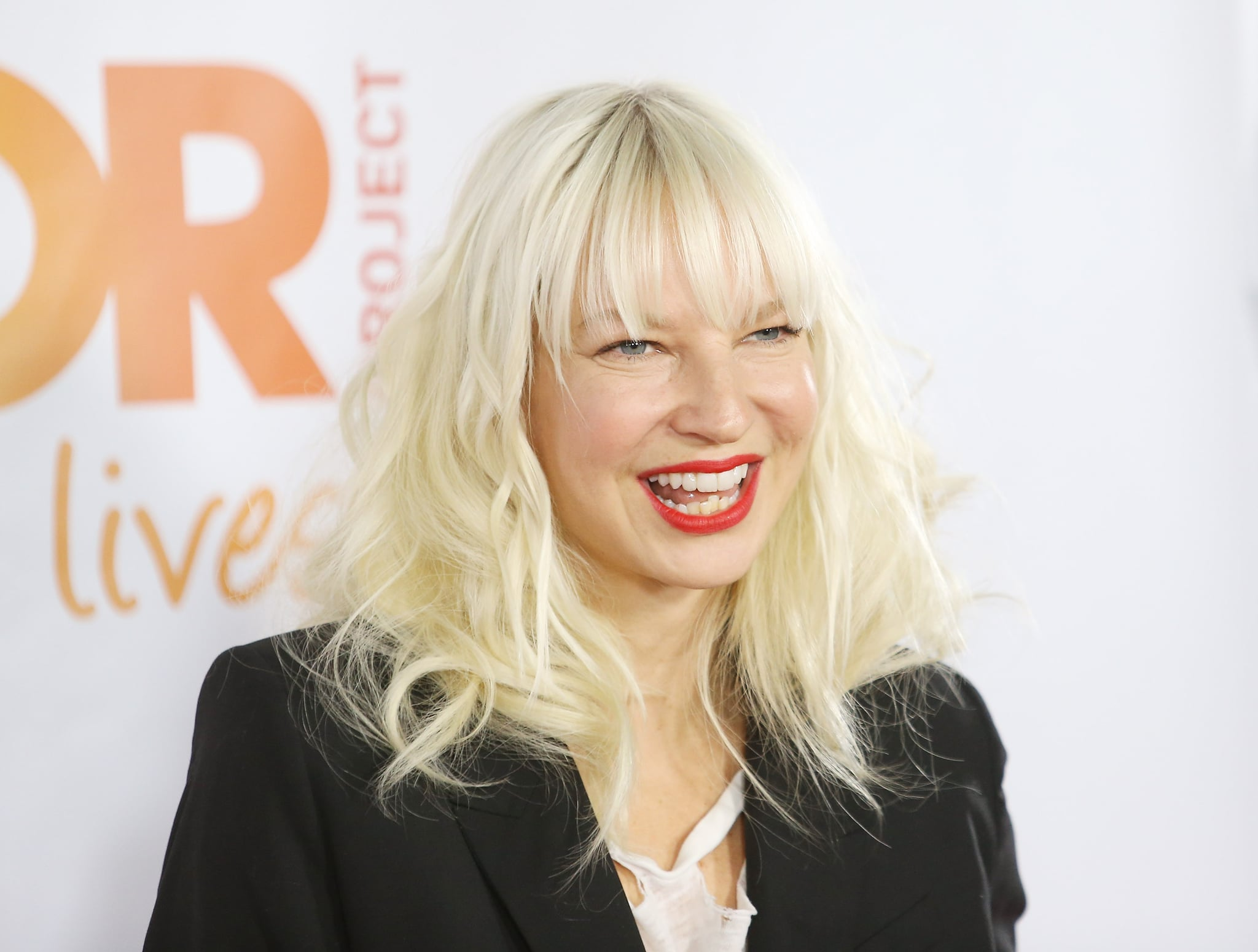 HOLLYWOOD, CA - DECEMBER 08:  Sia Furler arrives at the 15th Annual Trevor Project Benefit held at Hollywood Palladium on December 8, 2013 in Hollywood, California.  (Photo by Michael Tran/FilmMagic)