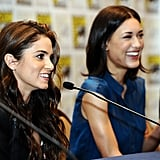 Nikki Reed and Julia Jones
